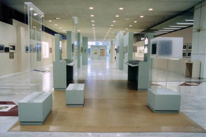 Εκθέσεις στον Οργανισμό Μεγάρου Μουσικής Αθηνών