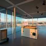 Visitors Center at the Stavros Niarchos Foundation Cultural Center