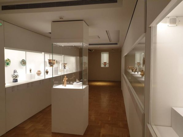 Exhibition of Cycladic Art Museum «Picasso and Antiquity Line and Clay»
